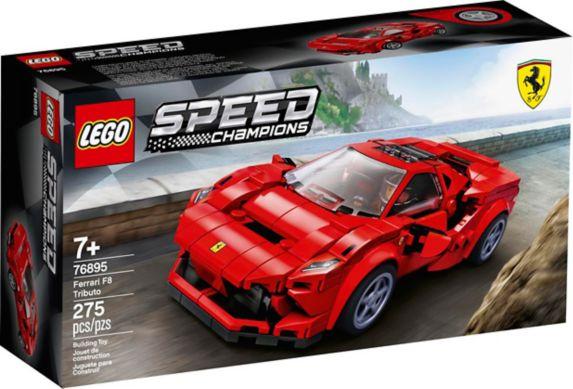 LEGO Speed Champions, Ferrari F8 Tributo, 76895 Image de l'article