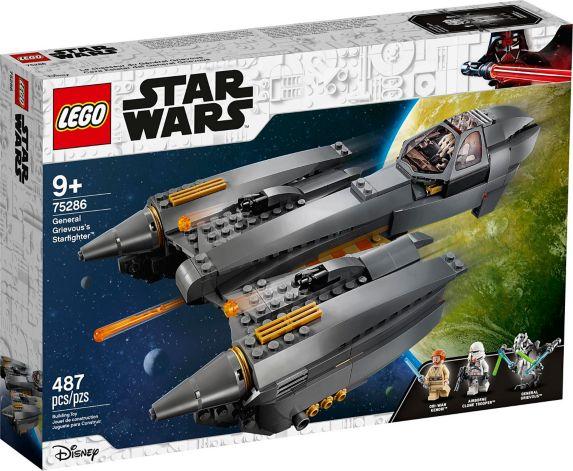 LEGO<sup>MD</sup> La guerre des étoiles Le chasseur stellaire du Général Grievou – 75286 Image de l'article