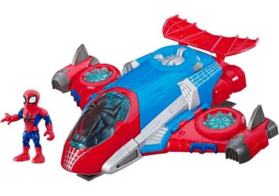 Quartier général Spider-Man Playskool Heroes Marvel Super Hero Adventures