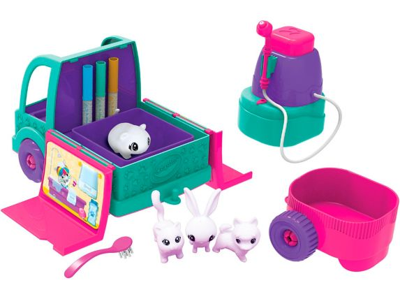Crayola Scribble Scrubbie Pets Mobile Spa Product image