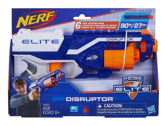 Nerf Elite Disruptor, 90-ft, 6-pk