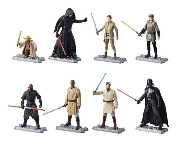 Star Wars Movies 1-8 Figure Multipack, 3.75-in