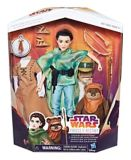 Figurines Princesse Leia et Ewok Star Wars : Forces du destin | Star Warsnull