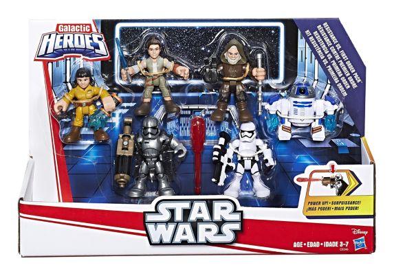 Ensemble de figurines Star Wars Galactic Heroes Power Up, paq.6 Image de l'article