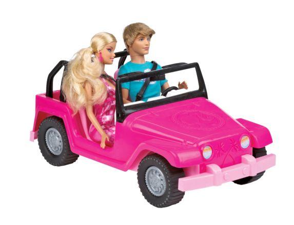 Jeep Barbie et Ken Image de l'article