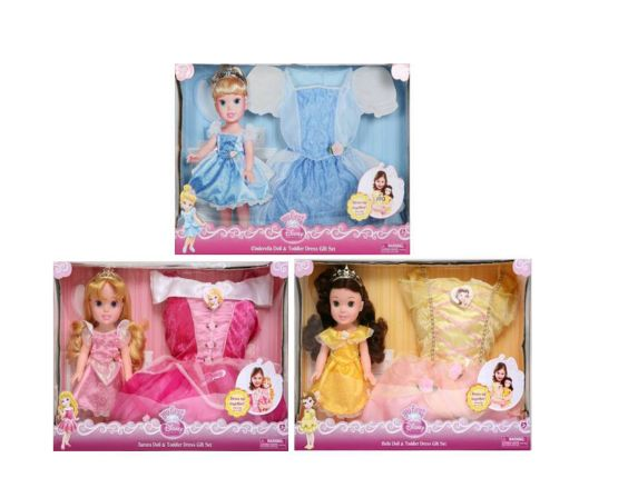 Disney Princess Doll and Dress Set