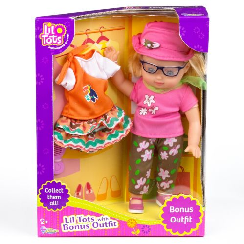 Lil' Tots Toddler with Bonus Outfit Product image