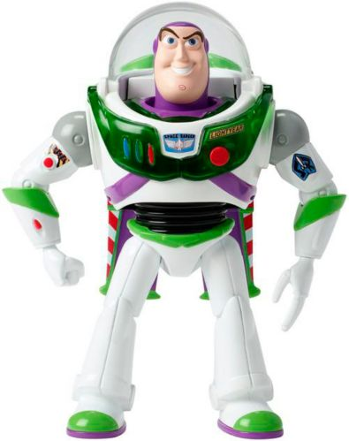 Disney Toy Story 4 Flying Buzz Lightyear Blast-Off Action Figure, 7-in