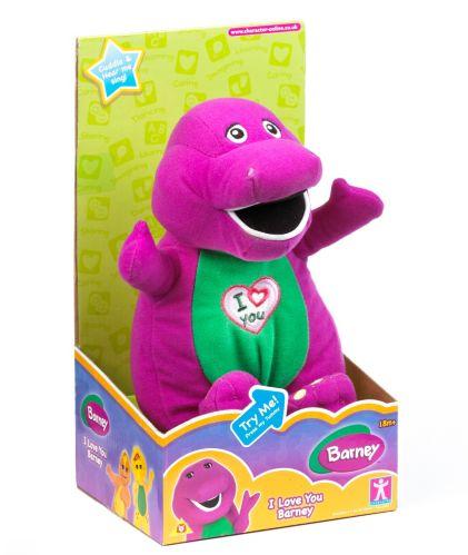Poupée Dino Singing Barney Image de l'article