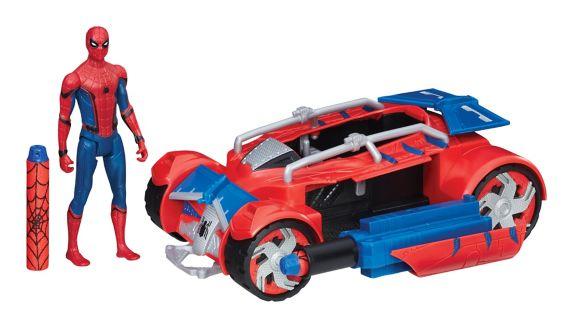Véhicule Spider-Man la Cité de toile, 6po Image de l'article