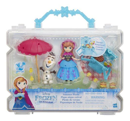 Ensemble histoire de poupées de La reine des neiges, petit, choix Image de l'article