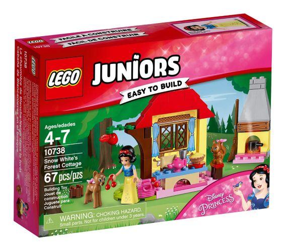 La chaumière de Blanche-Neige dans la forêt LEGO Juniors, 67 pces