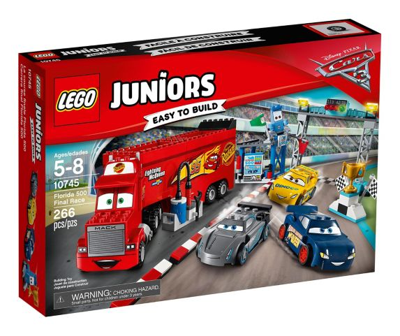 La course finale Florida 500 LEGO Juniors, 266 pces