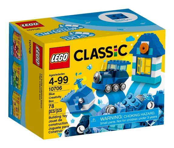 LEGO Classic Blue Creativity Box, 78-pc Product image