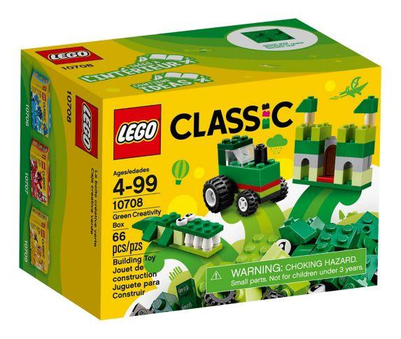 LEGO Classic Green Creativity Box, 66-pc