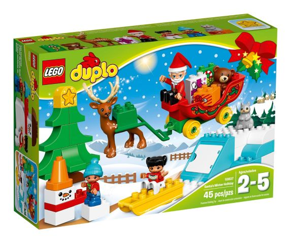 LEGO Duplo, Les vacances d'hiver du père Noël, 45pces Image de l'article