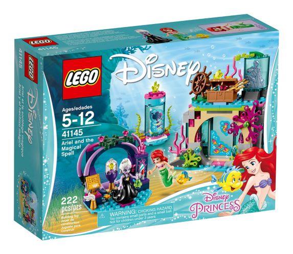 Ariel et le sortilège magique LEGO Disney Princess, 222 pces