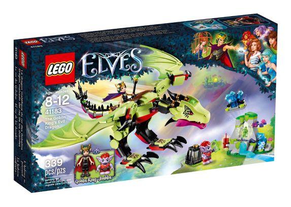 LEGO Elves The Goblin King's Evil Dragon, 339-pc