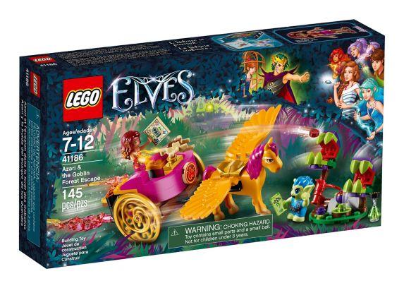 Azari et l'évasion dans la forêt des Gobelins LEGO Elves, 145 pces Image de l'article