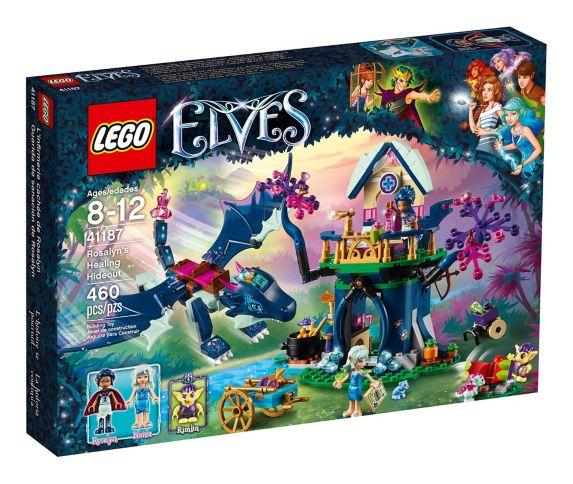 L'infirmerie cachée de Rosalyn LEGO Elves, 460 pces