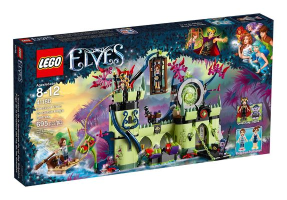 LEGO Elves Breakout from the Goblin King's Fortress, 695-pc Product image