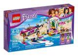 Le transport du hors-bord d'Andréa LEGO Friends, 309 pces | Legonull