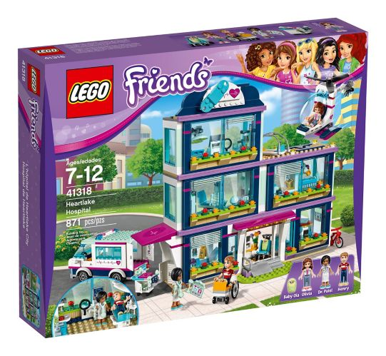 L'hôpital de Heartlake City LEGO Friends, 871 pces