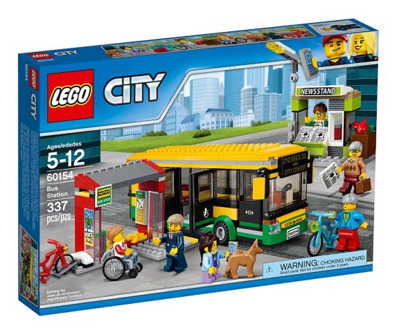 La gare d'autobus LEGO City, 337 pces Image de l'article