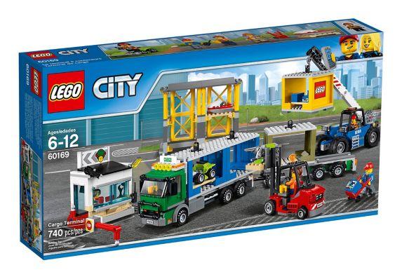 LEGO City Cargo Terminal, 740-pc Product image