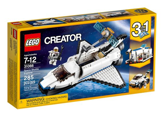 LEGO Creator Space Shuttle Explorer, 285-pc Product image