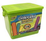 Chalk-a-doos Jumbo Sidewalk Chalk, 20-pc | Vendornull