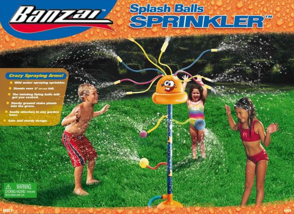 Arroseur Splash Balls Image de l'article