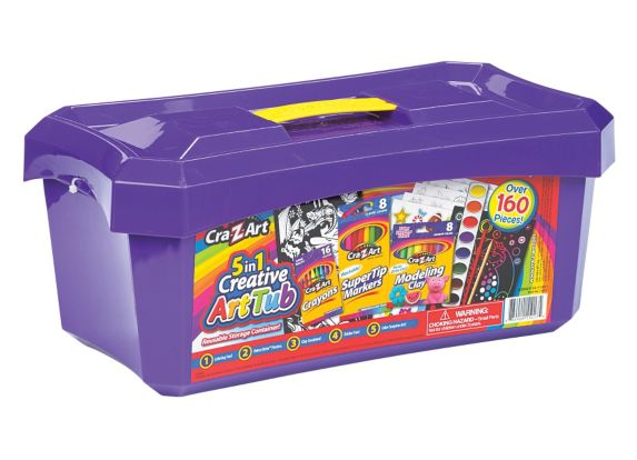 Cra-Z-Art 5-in-1 Art Tub Product image