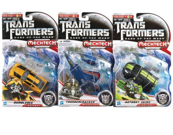 Figurines Transformer, paq. 3