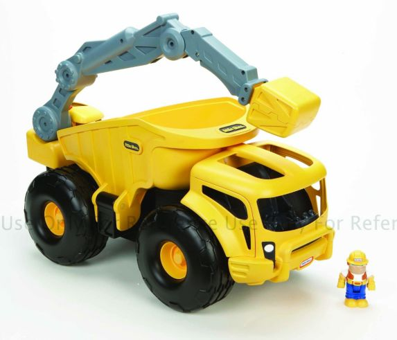 Little Tikes Monster Dirt Diggers Crane Trunk Product image