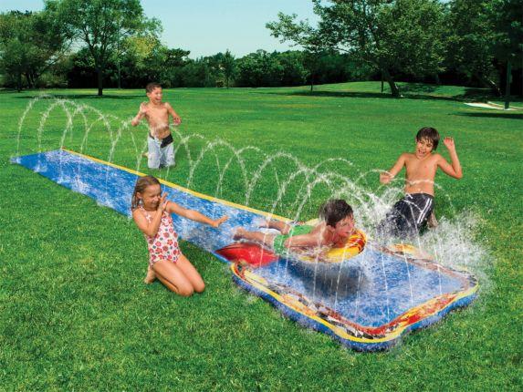 Glissoire Splash Attack Jump Image de l'article