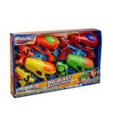 Pistolets à eau Banzai Big Blast Battle, paq. 8 | Banzainull