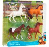 Figurines de chevaux Spirit Au galop en toute liberté, varié, paq. 4 | Spiritnull