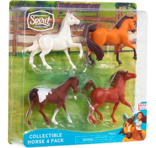 Spirit Riding Free Collectible Horse, Assorted, 4-pk