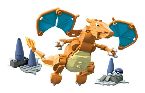 Mega Bloks Pokémon Charizard Building Set Product image