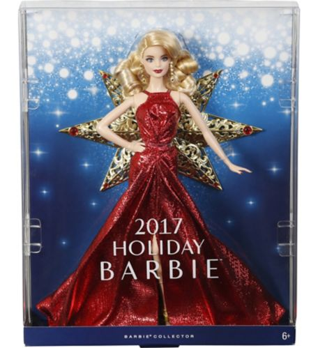 2017 Barbie Holiday Doll