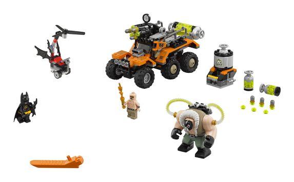 LEGO Batman, L'attaque du camion toxique de Bane, paq.366