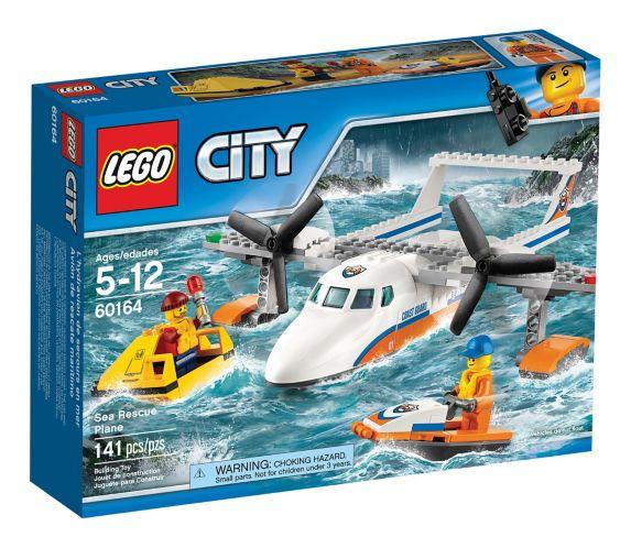 LEGO City Sea Rescue Plane, 141-pc Product image
