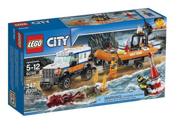 LEGO City 4 x 4 Response Unit, 347-pc
