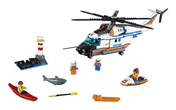 LEGO City, L'hélicoptère de secours, paq. 415