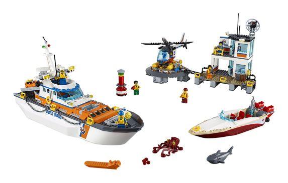 LEGO City, Le QG des garde-côtes, paq. 792 Image de l'article