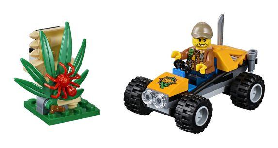 LEGO City, Le buggy de la jungle, paq. 53 Image de l'article