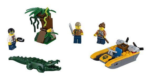 LEGO City, Ensemble de départ de la jungle, paq. 88 Image de l'article