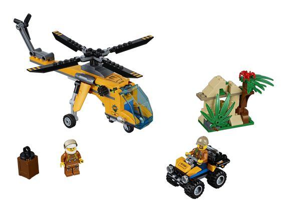 LEGO City, L'hélicoptère cargo de la jungle, paq.201 Image de l'article