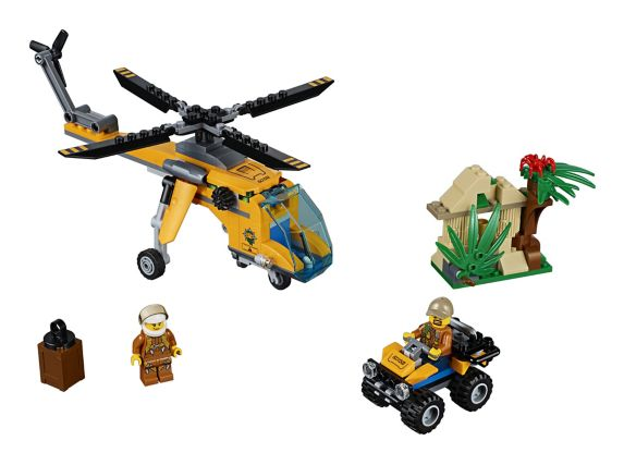 LEGO City Jungle Cargo Helicopter, 201-pc Product image